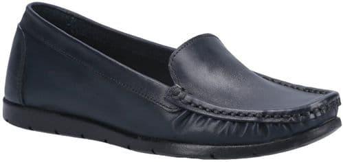 Fleet & Foster Tiggy Slip On Ladies Shoes Navy